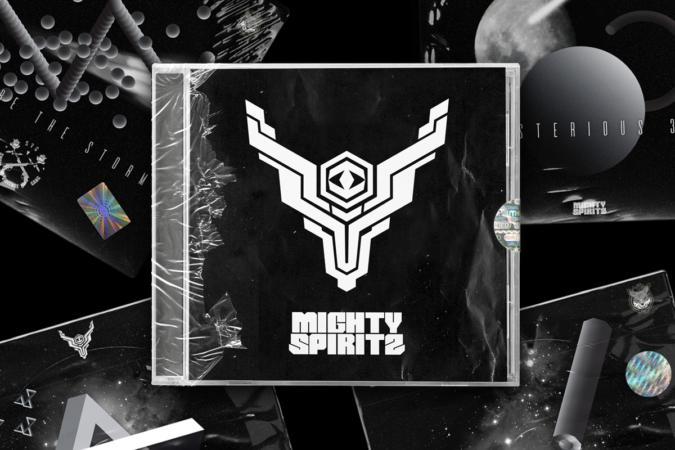 mighty spiritz CD pochette album musique hardstyle hardcore Lyon