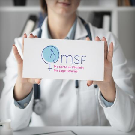 MSF ma sage femme logo