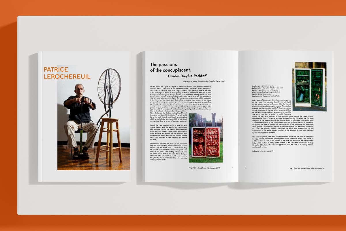 patrice lerochereuil catalogue artiste exposition fluxus new york