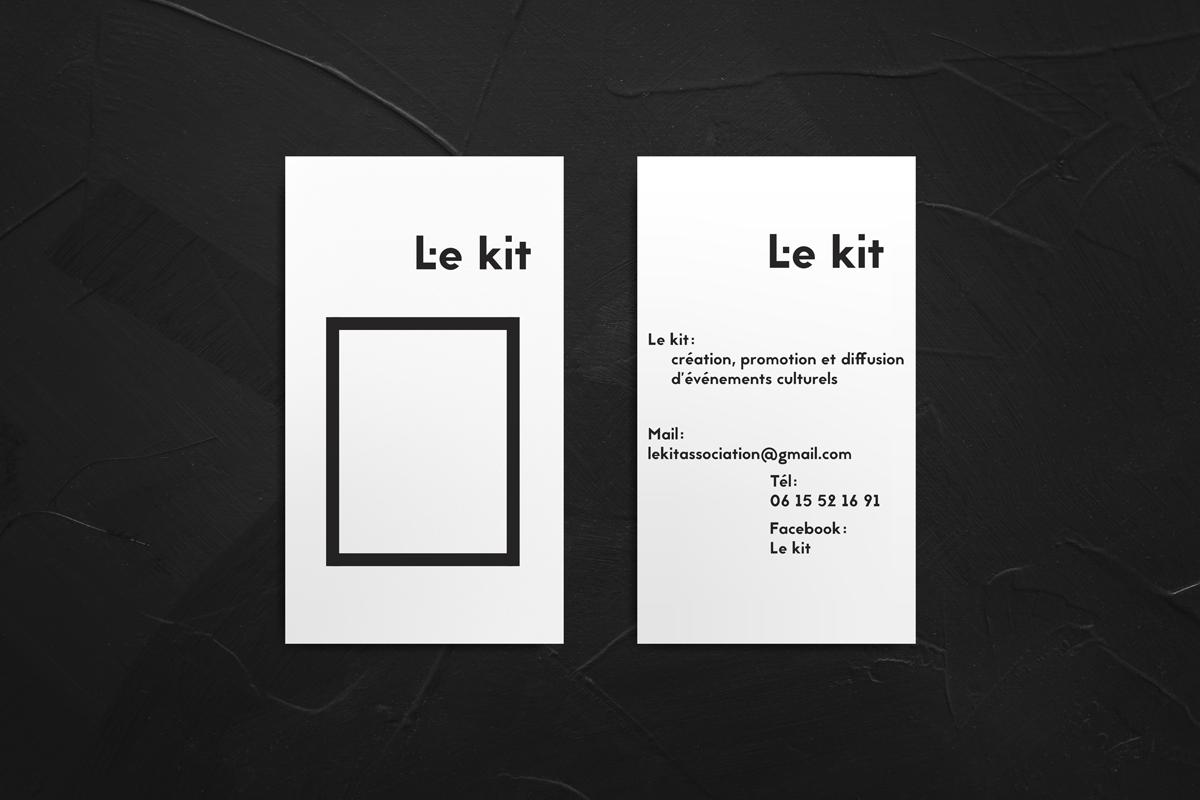 le kit logo carte visite association Besançon culturel culture