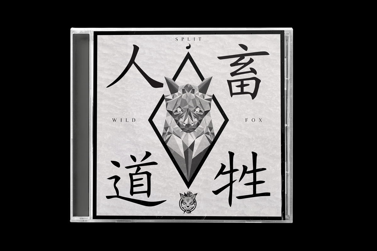 Wild Fox CD cover pochette album artiste rap hip hop Londres