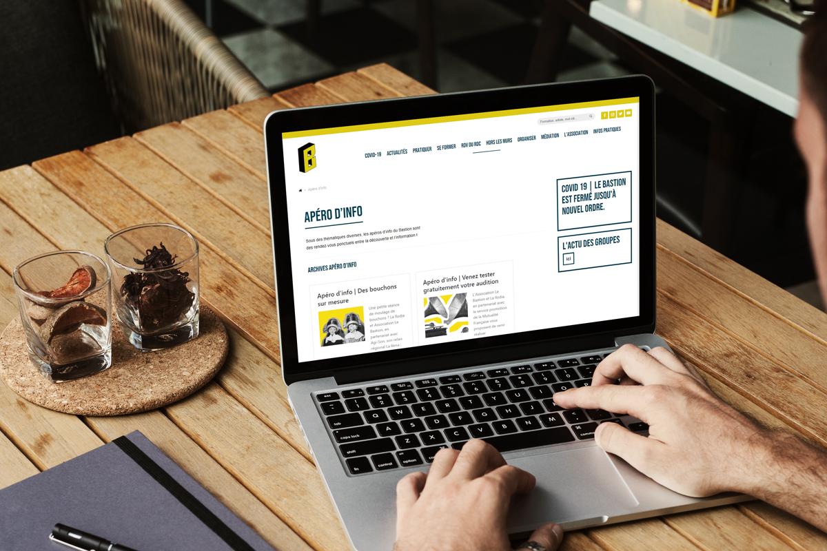 le bastion association site internet web