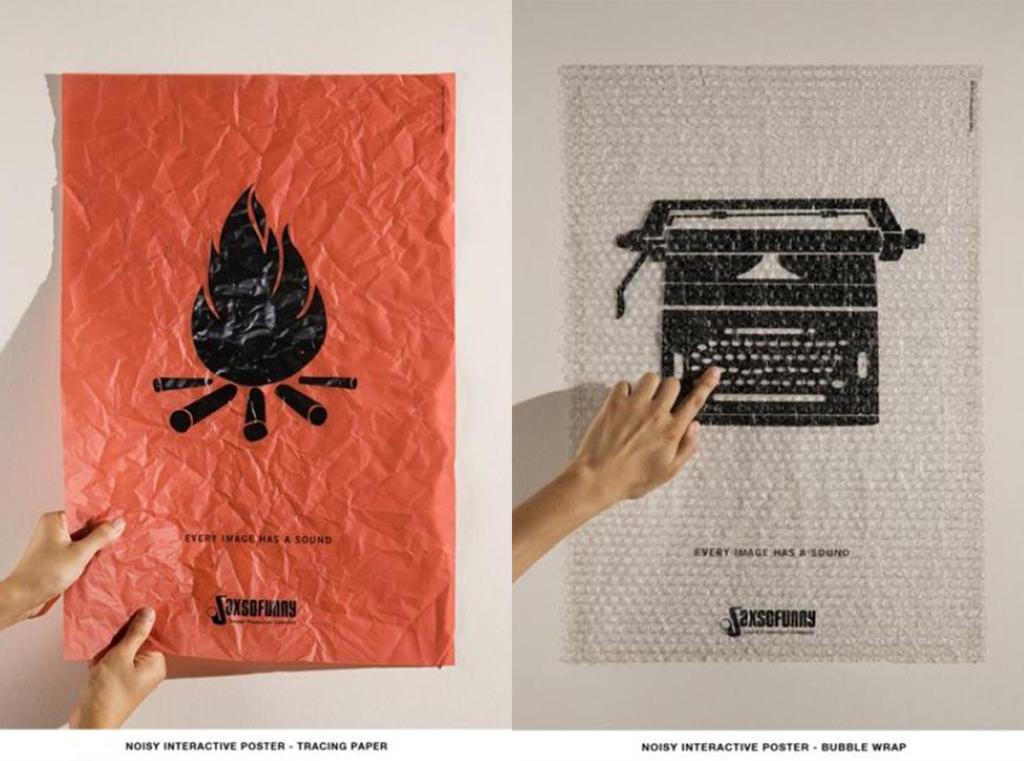 image blog print et digital affiches interactives
