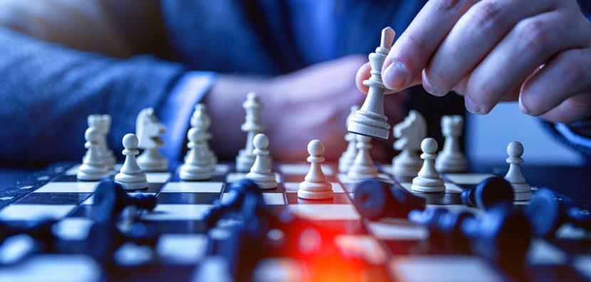 image blog Strategie Marketing et de communication Code Graphique jeu echec stratégie