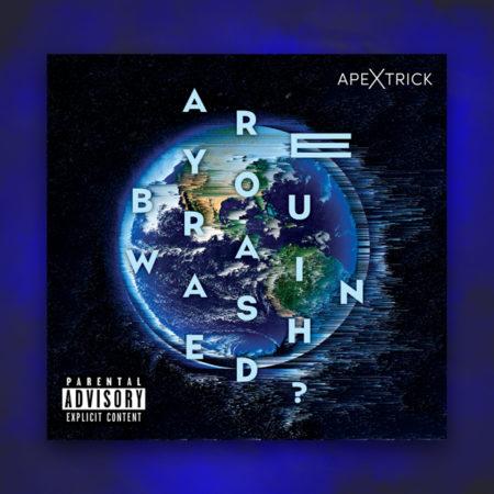 ApeXtrick CD album pochette Melbourne Autralie glitch typographie are you brainwashed