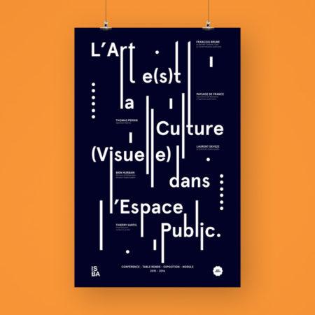 art et culture visuelle affiche